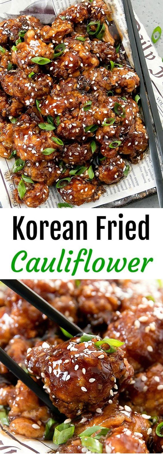 Korean Fried Cauliflower