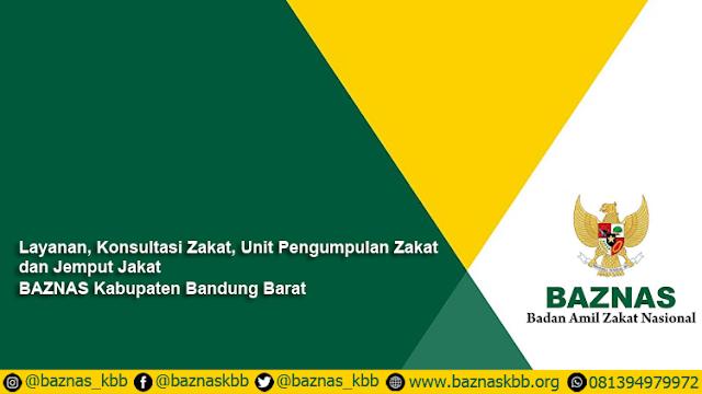 Layanan BAZNAS Kabupaten Bandung Barat