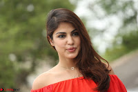 Rhea Chakraborty in Red Crop Top and Denim Shorts Spicy Pics ~  Exclusive 114.JPG