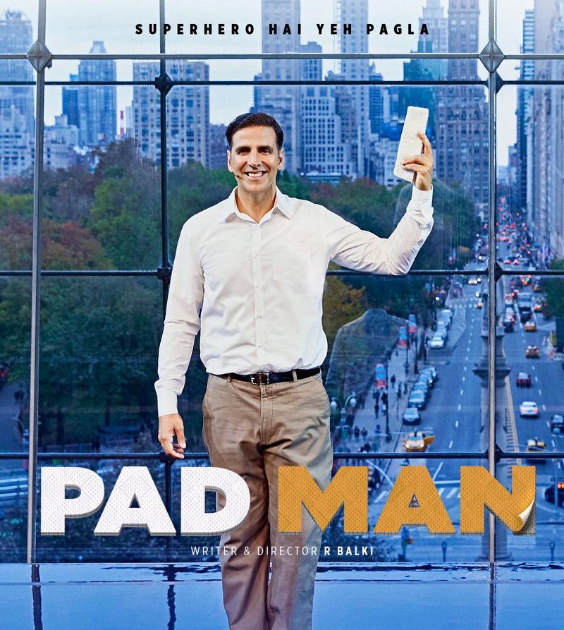 Akshay Kumar, Sonam Kapoor and Radhika Apte film Pad Man Crosses 100 Crore Mark, Becomes Highest Grosser Of 2018