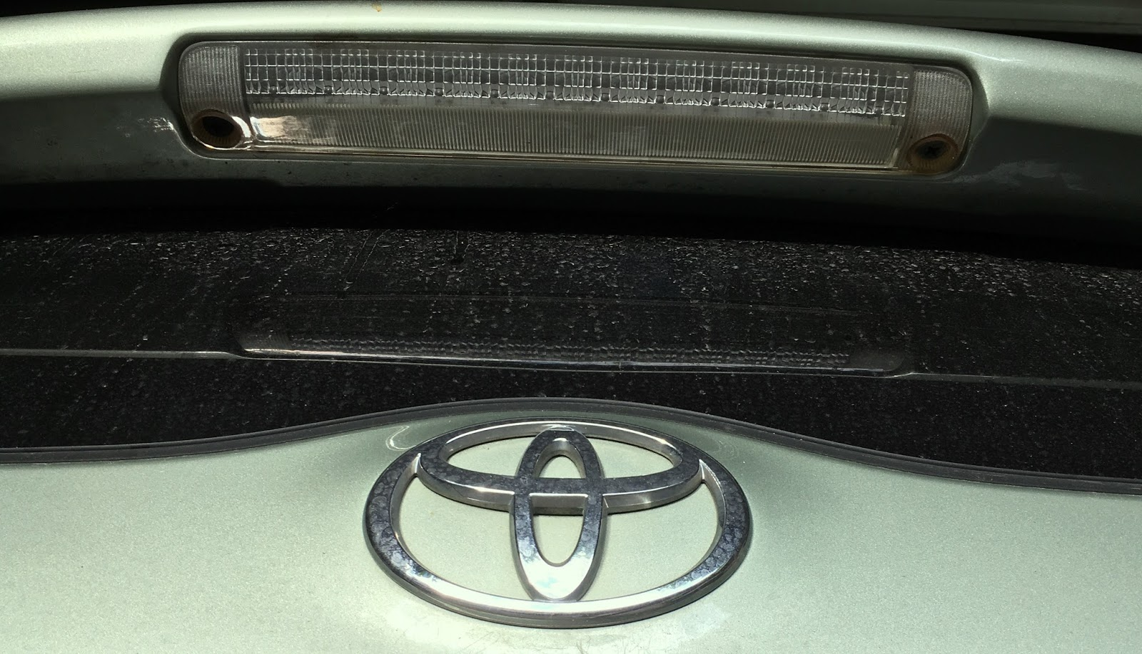Toyota S Sticky 2007 Prius Hatch Problem