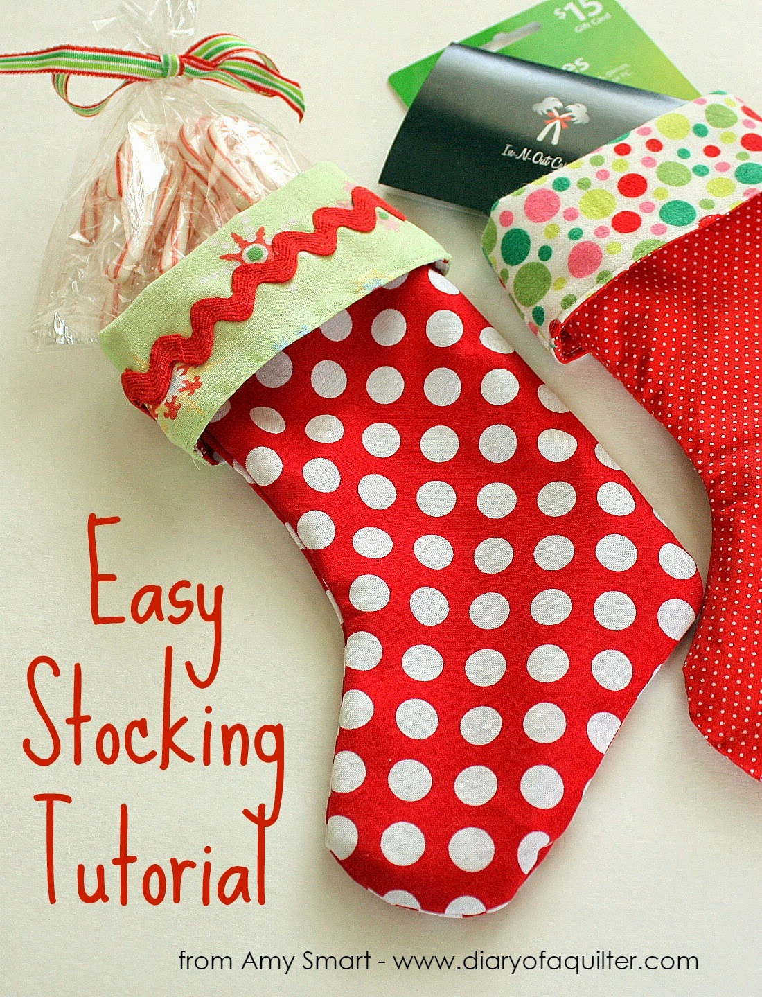 Easy diy stocking tutorial i suggest making a practice stocking just to see how it comes together and i guarantee each stocking you make after that will get faster and easier jeuxipadfo Gallery