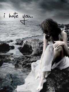 I Hate You Girl 240x320 Mobile Wallpaper Mobile Wallpapers