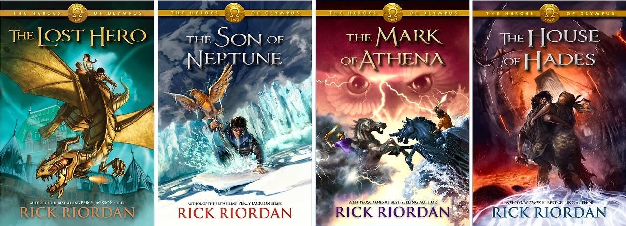 J R L i n d z : Book/Author Review: Rick Riordan
