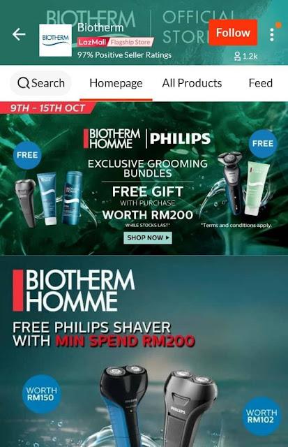 jenama Kecantikan Antarabangsa - Biotherm