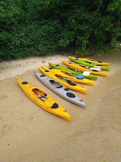 Paddle Asia fleet of touring kayaks for Phang Nga Bay kayaking