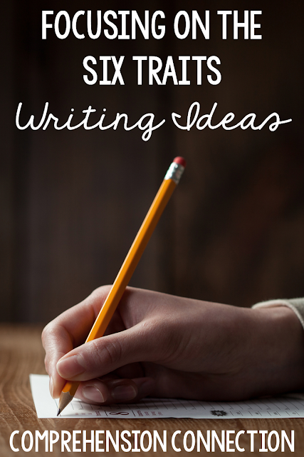 In this blog post, we explore how to build writing ideas using mentor texts. The six writing traits support student writing growth and are perfect for inclusion in your writers workshop block. Check out this post featuring Bear Wants More by Karma Wilson and other mentor text for writing ideas.
