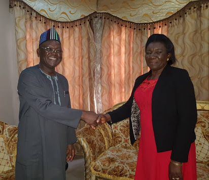 First Female Head Of Service Sworn-In By Benue Governor