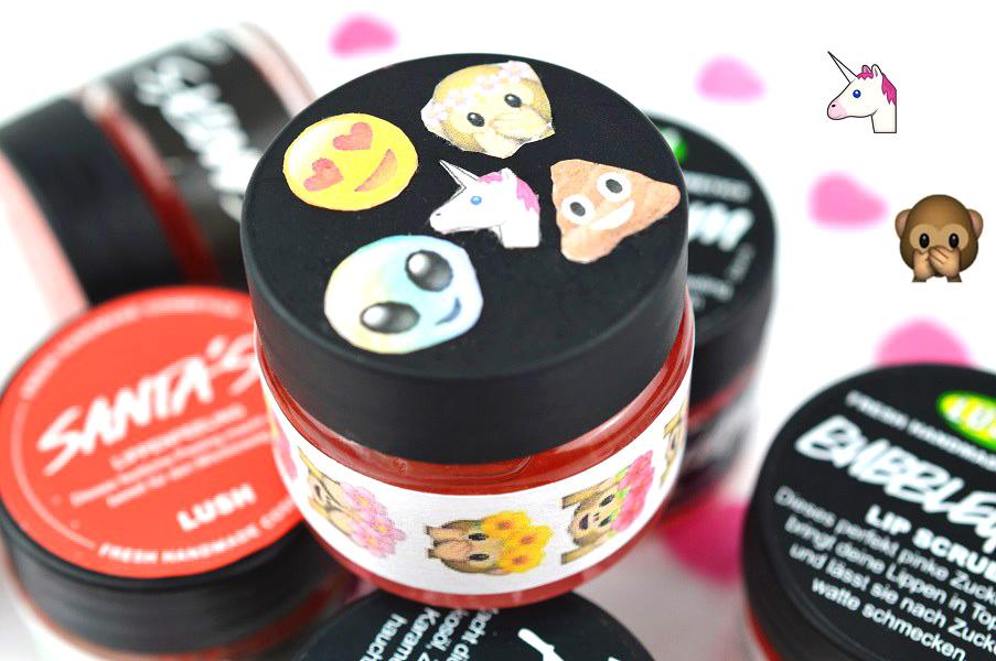 Glam Shine Beautyblog Diy Lush Lippenpeeling Selber Machen
