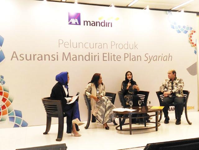 peluncuran  Mandiri Elite Plan Syariah dari AXA Mandiri