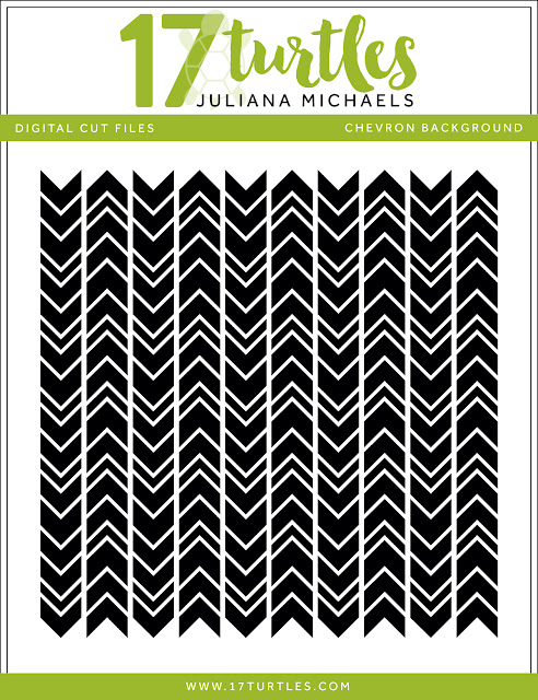 Chevron Background Free Digital Cut File by Juliana Michael 17turtles