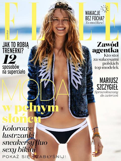 Fashion Model, @ Michalina Glen by Marcin Kempski for ELLE Poland, July 2016