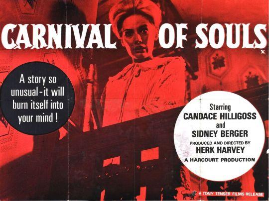 Carnival of Souls, British quad poster