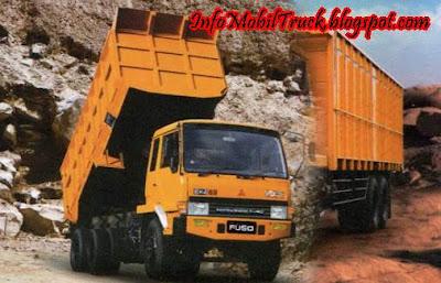 Dam truk fuso mitsubishi