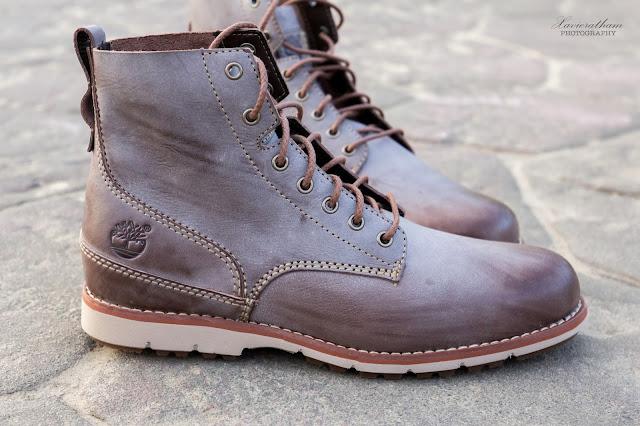 「敗家之路」Timberland 深褐色復古摔紋高筒靴 - 4