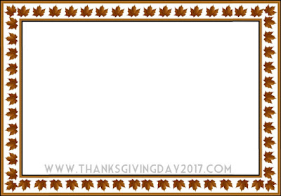 Thanksgiving Border Download