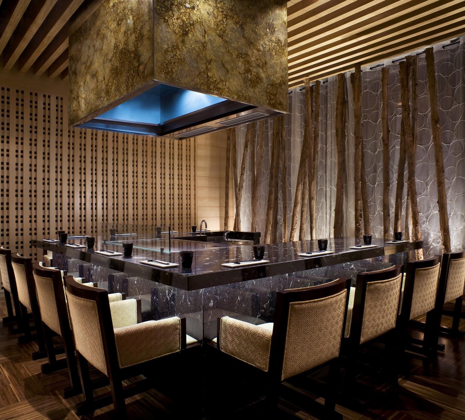 Japanese Dining Room: Eiji Nakamura 中村 榮治: Teppanyaki -鉄板焼き