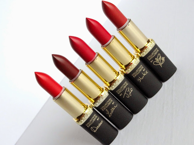 L'Oreal Pure Reds Exclusive Collection