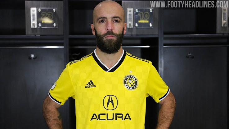 0f65ea8b070 MLS club Columbus Crew just launched its new 2019 home kit