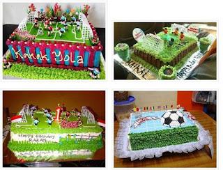 Gambar Kue Ulang Tahun Bola Untuk Anak Laki Laki