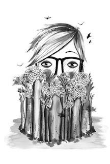 Diario de un cuerpo, ejemplo de ilustración por Alba Falgarona (Wäwa Illustrations)