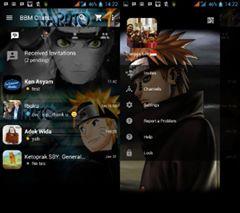 BBM MOD Naruto Paint