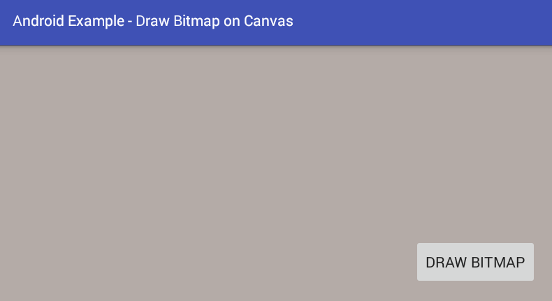 android - How to draw a Bitmap on a Canvas