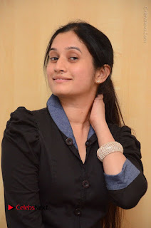 Telugu Actress Priyanka Pallavi Stills in Micro Mini Skirt at Nenosthaa Movie Song Launch at Radio City  0033.JPG