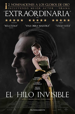 Phantom Thread 2017 Custom HDRip Dual Latino