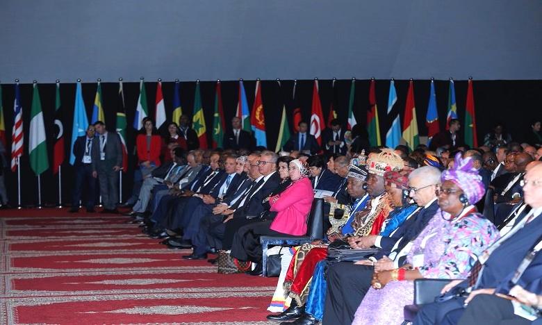 اختتام قمة إفريقيا الثامنة لعام 2018 ، مشاركة قياسية