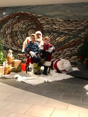 Grands with Santa