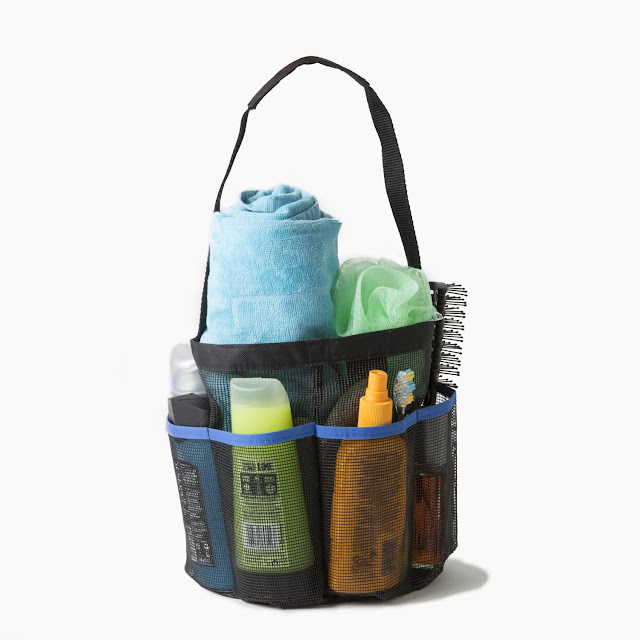 Top Dorm Room Accessories to Keep You Organized - portable shower tote :: OrganizingMadeFun.com