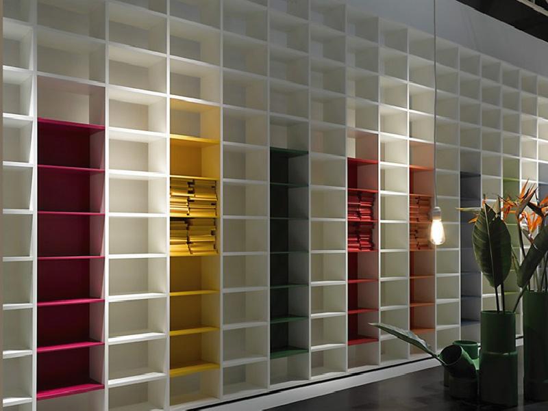 Librerie a tutta parete dettagli home decor