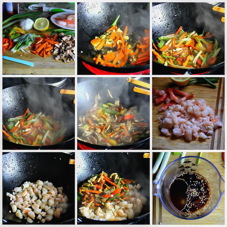 Shrimp Stir Fry Bites