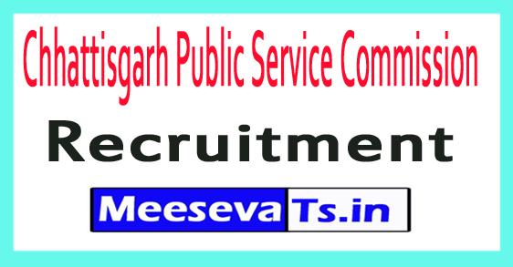Chhattisgarh Public Service Commission CGPSC