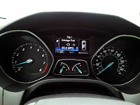 2012 Ford Focus SEL gagues