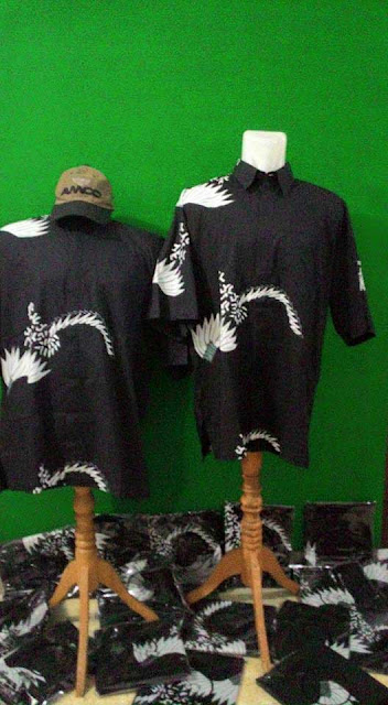 Seragam Batik Tulis Perpajakan Motif muman