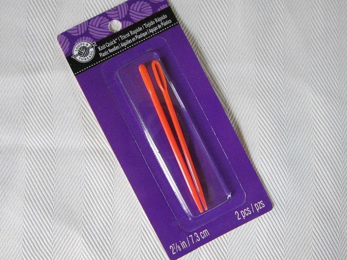 yarn needles, plastic, Loops & Threads, cheaper