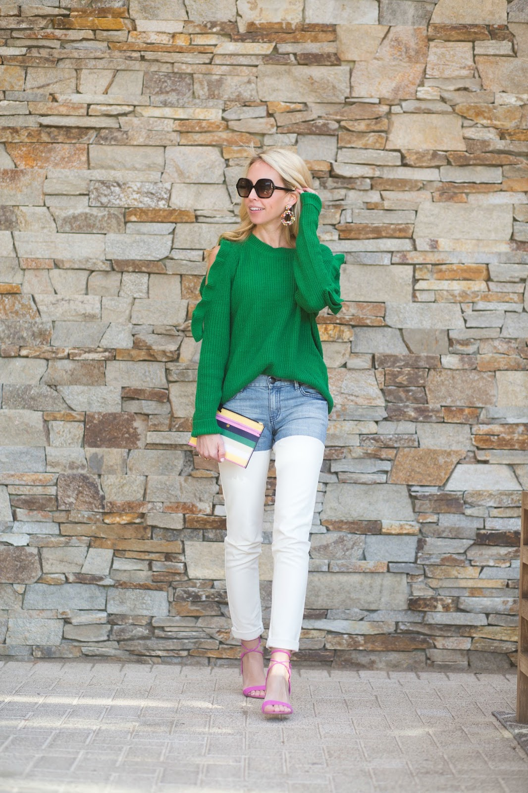 The Penny Parlor: Spring Style: Pink   Green