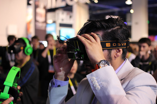 Image Attribute: Razer OSVR Open-Source Virtual Reality for Gaming | by pestoverde / Source: Flickr