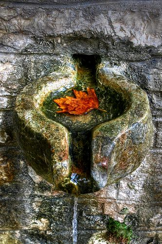 Spring water - Kalarrytes - Ioannina -Photo by Dimtze on flickr