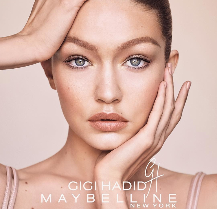 maybelline x gigi hadid collection