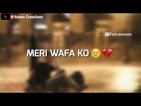 StatusMobi.com   Hum Tumse Pyar Karke Din Raat Rote Hain   Very Sad Whatsapp Status Video Song   Heart Touching