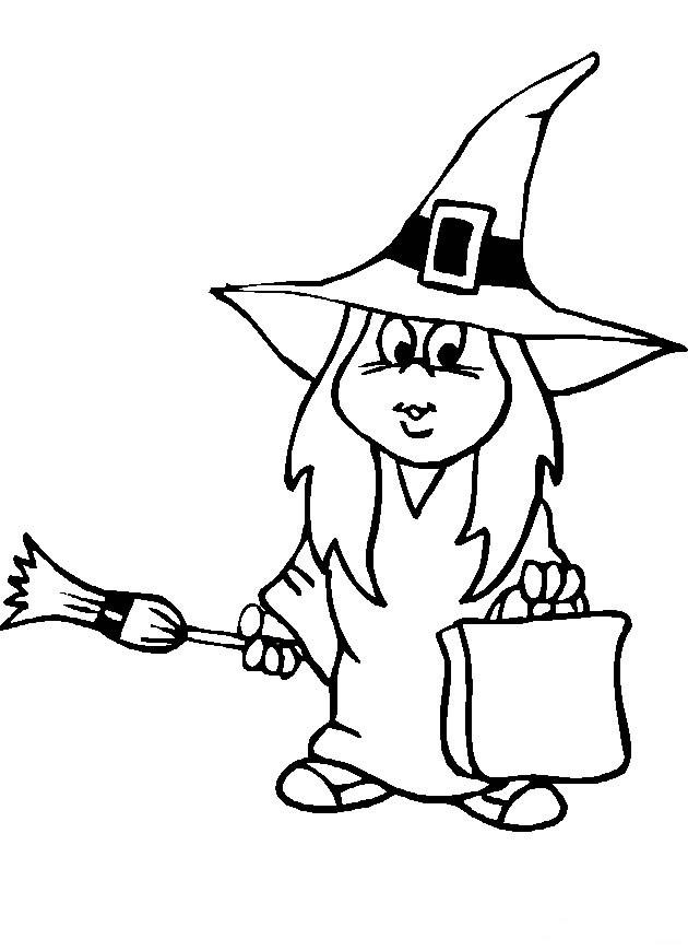 40 Desenhos De Bruxa Para Colorir Pintar Imprimir Desenhos De