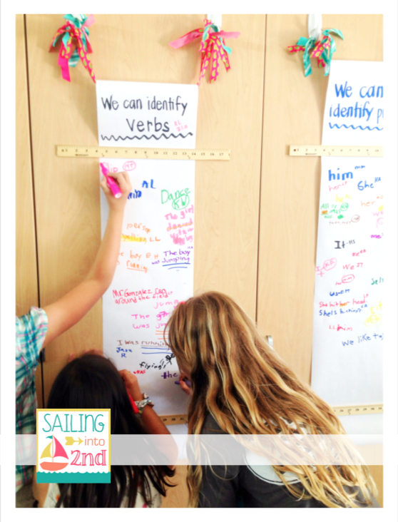 sailing into second, interactive learning