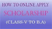 How to apply online Scholarship (step by step)