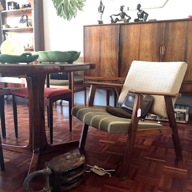 loja vintage, design nórdico, decoração vintage, móveis vintage