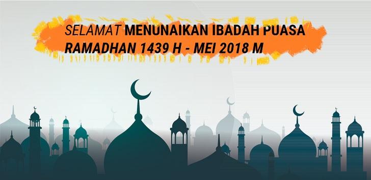 Kumpulan Ucapan Selamat Berbuka Puasa 2018 M / 1439 H