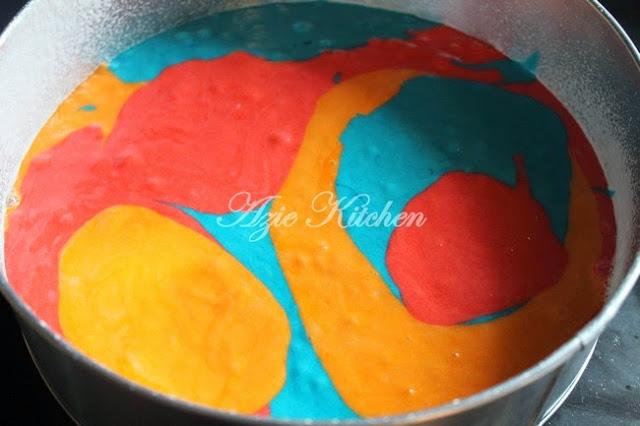 Kek Minyak Gebu Dan Sedap