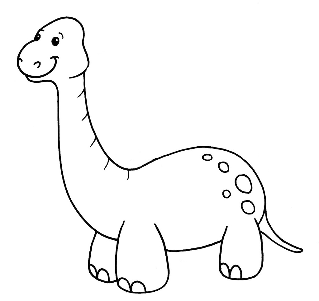 Bonita Desenho De Dinossauro Para Colorir Online Melhores Casas